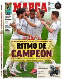 capa Jornal Marca de 6 julho 2020