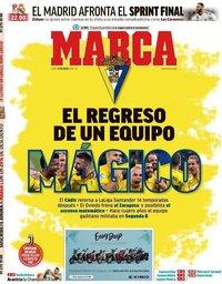 capa Jornal Marca de 13 julho 2020