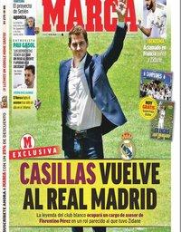 capa Jornal Marca de 18 julho 2020