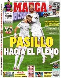 capa Jornal Marca de 19 julho 2020