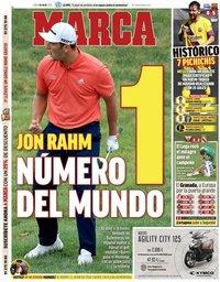 capa Jornal Marca de 20 julho 2020