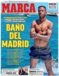 capa Jornal Marca de 22 julho 2020