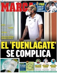 capa Jornal Marca de 24 julho 2020
