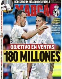 capa Jornal Marca de 25 julho 2020