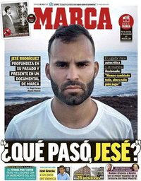 capa Jornal Marca de 26 julho 2020
