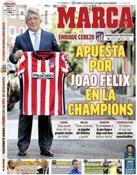 capa Jornal Marca de 28 julho 2020
