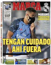 capa Jornal Marca de 29 julho 2020
