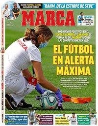 capa Jornal Marca de 30 julho 2020