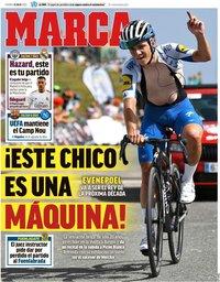capa Jornal Marca de 31 julho 2020