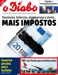 capa Jornal O Diabo de 10 julho 2020