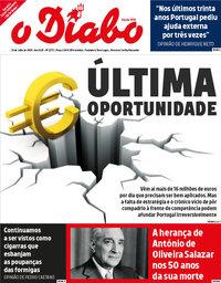 capa Jornal O Diabo de 24 julho 2020