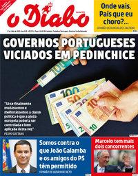 capa Jornal O Diabo de 31 julho 2020