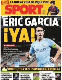 capa Jornal Sport de 4 julho 2020