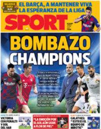 capa Jornal Sport de 11 julho 2020