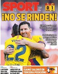 capa Jornal Sport de 12 julho 2020