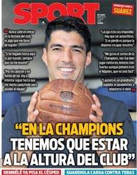 capa Jornal Sport de 15 julho 2020