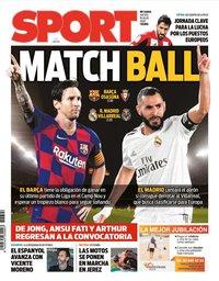 capa Jornal Sport de 16 julho 2020