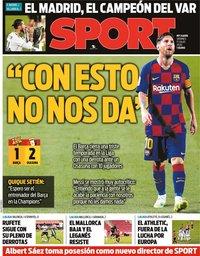 capa Jornal Sport de 17 julho 2020