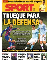 capa Jornal Sport de 23 julho 2020