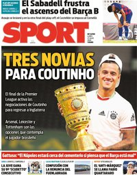 capa Jornal Sport de 27 julho 2020