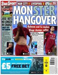 capa Jornal Star Sport de 3 julho 2020