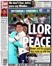 capa Jornal Star Sport de 7 julho 2020