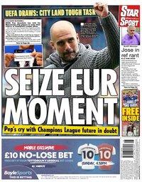 capa Jornal Star Sport de 11 julho 2020