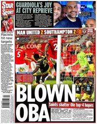 capa Jornal Star Sport de 14 julho 2020