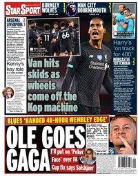 capa Jornal Star Sport de 16 julho 2020