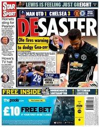 capa Jornal Star Sport de 20 julho 2020