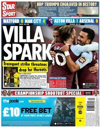 capa Jornal Star Sport de 22 julho 2020