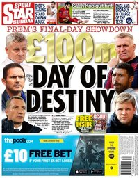 capa Jornal Star Sport de 26 julho 2020
