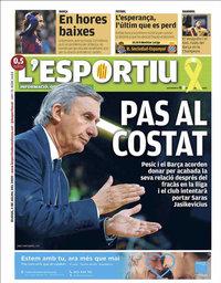 capa L'Esportiu de 2 julho 2020