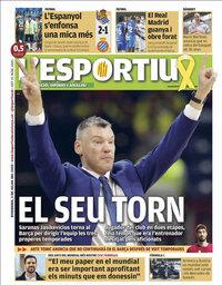 capa L'Esportiu de 3 julho 2020