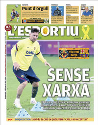 capa L'Esportiu de 5 julho 2020