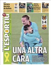 capa L'Esportiu de 6 julho 2020