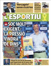 capa L'Esportiu de 7 julho 2020