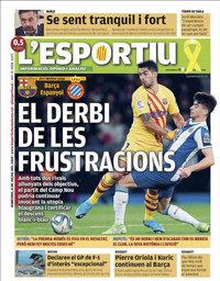 capa L'Esportiu de 8 julho 2020