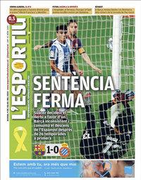 capa L'Esportiu de 9 julho 2020