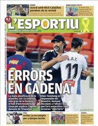capa L'Esportiu de 10 julho 2020