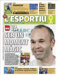 capa L'Esportiu de 11 julho 2020