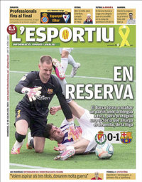 capa L'Esportiu de 12 julho 2020