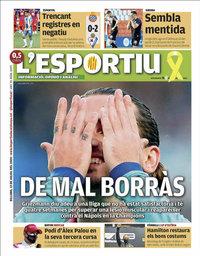 capa L'Esportiu de 13 julho 2020