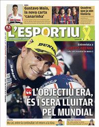 capa L'Esportiu de 15 julho 2020