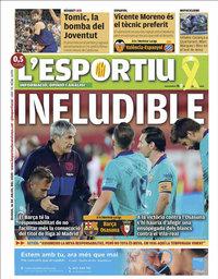 capa L'Esportiu de 16 julho 2020