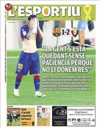 capa L'Esportiu de 17 julho 2020