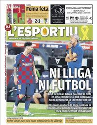 capa L'Esportiu de 18 julho 2020