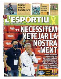 capa L'Esportiu de 19 julho 2020
