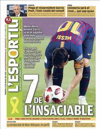 capa L'Esportiu de 21 julho 2020