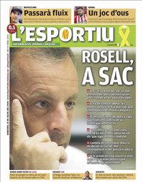 capa L'Esportiu de 22 julho 2020